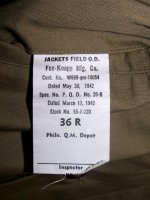 M41 Jacket Unissued